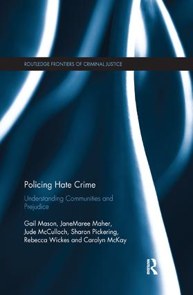 Policing Hate Crime: Understanding Communities and Prejudice book cover