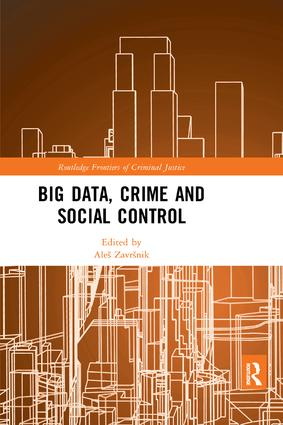 Big Data, Crime and Social Control book cover