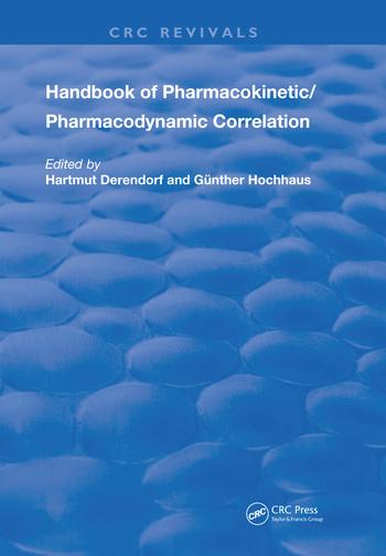 Handbook of Pharmacokinetic/Pharmacodynamic Correlation