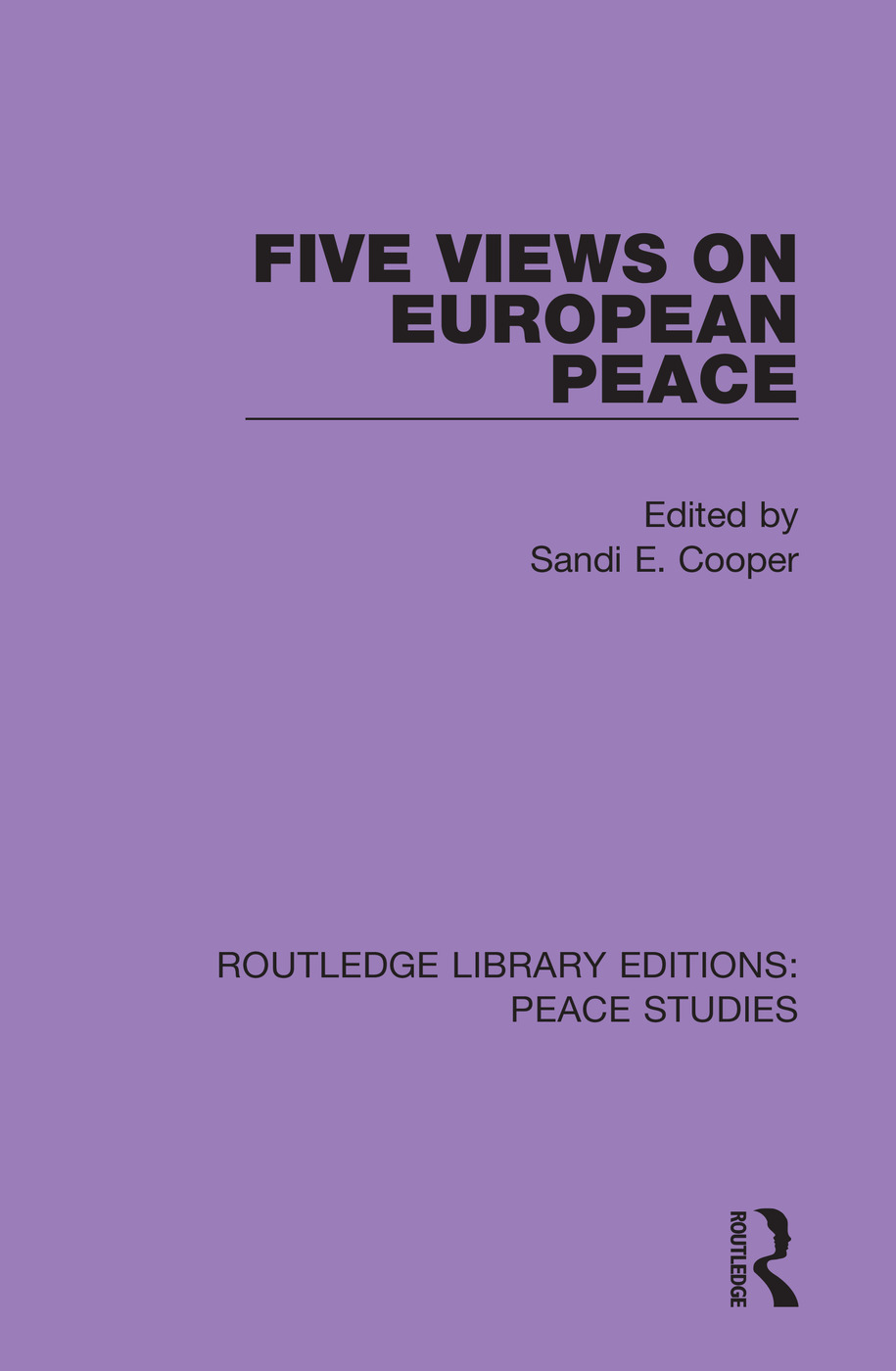 Five Views on European Peace book cover