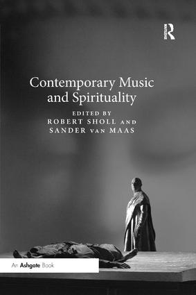 Contemporary Music and Spirituality book cover