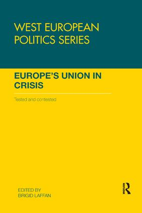 Europe's Union in Crisis: Tested and Contested book cover
