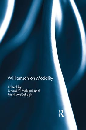 Williamson on Modality book cover
