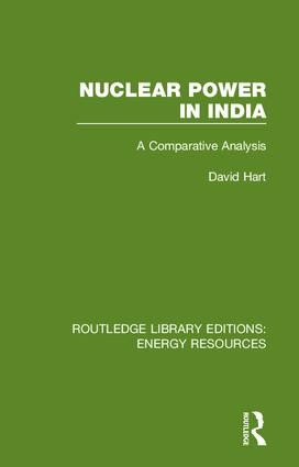 Nuclear Power in India: A Comparative Analysis book cover
