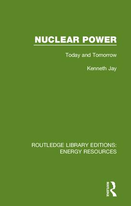 Nuclear Power: Today and Tomorrow book cover