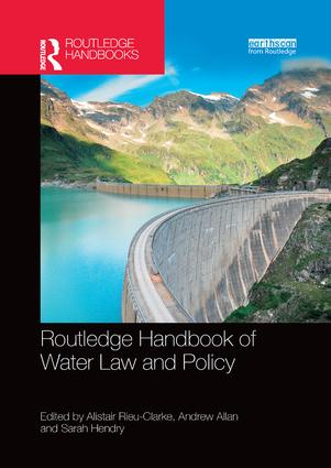 Routledge Handbook of Water Law and Policy book cover