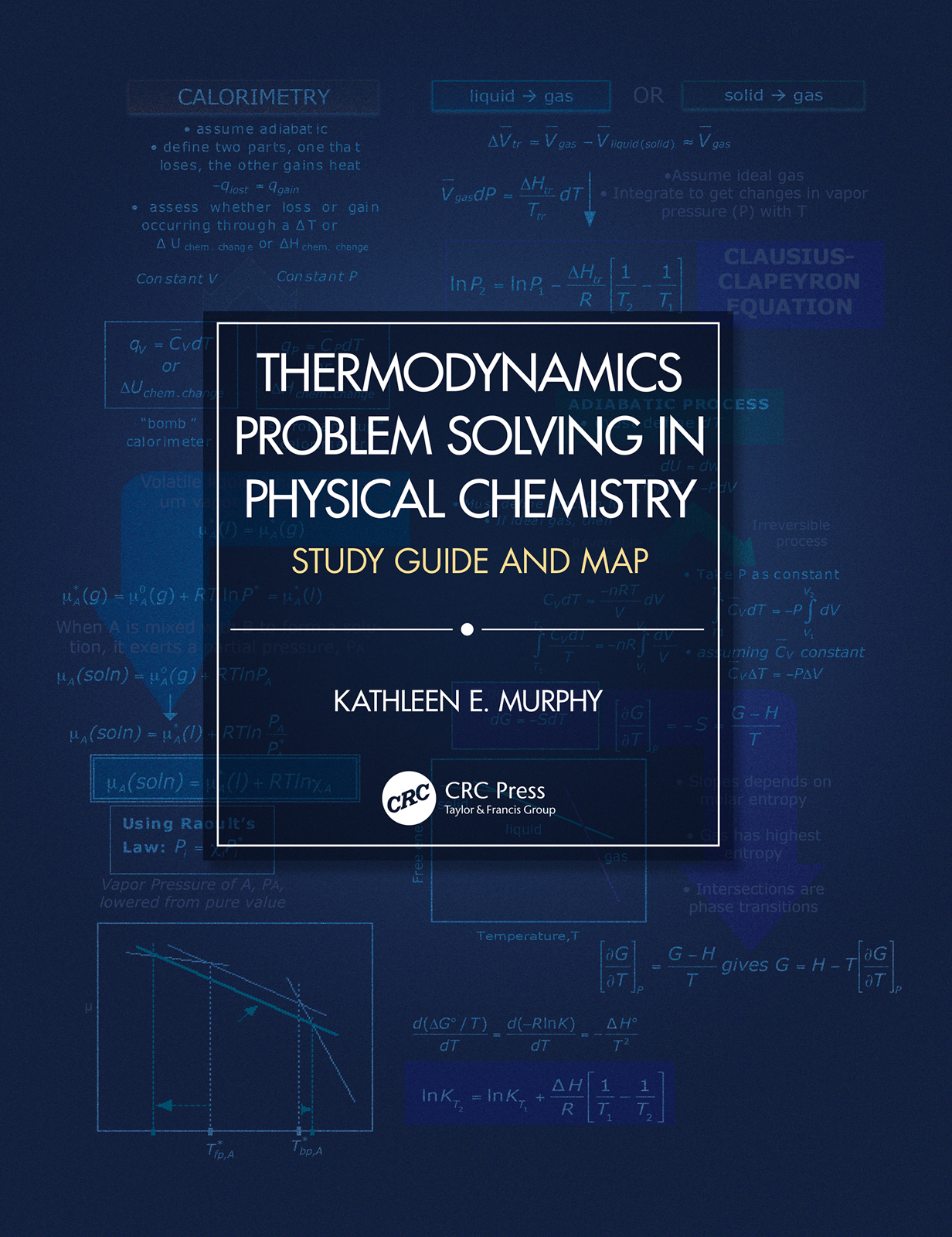 Thermodynamics Problem Solving in Physical Chemistry: Study Guide and Map book cover