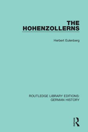 The Hohenzollerns book cover