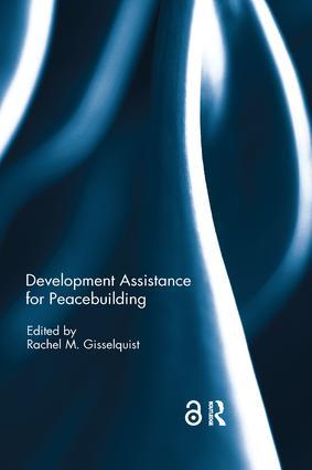 Development Assistance for Peacebuilding: 1st Edition (Paperback) book cover