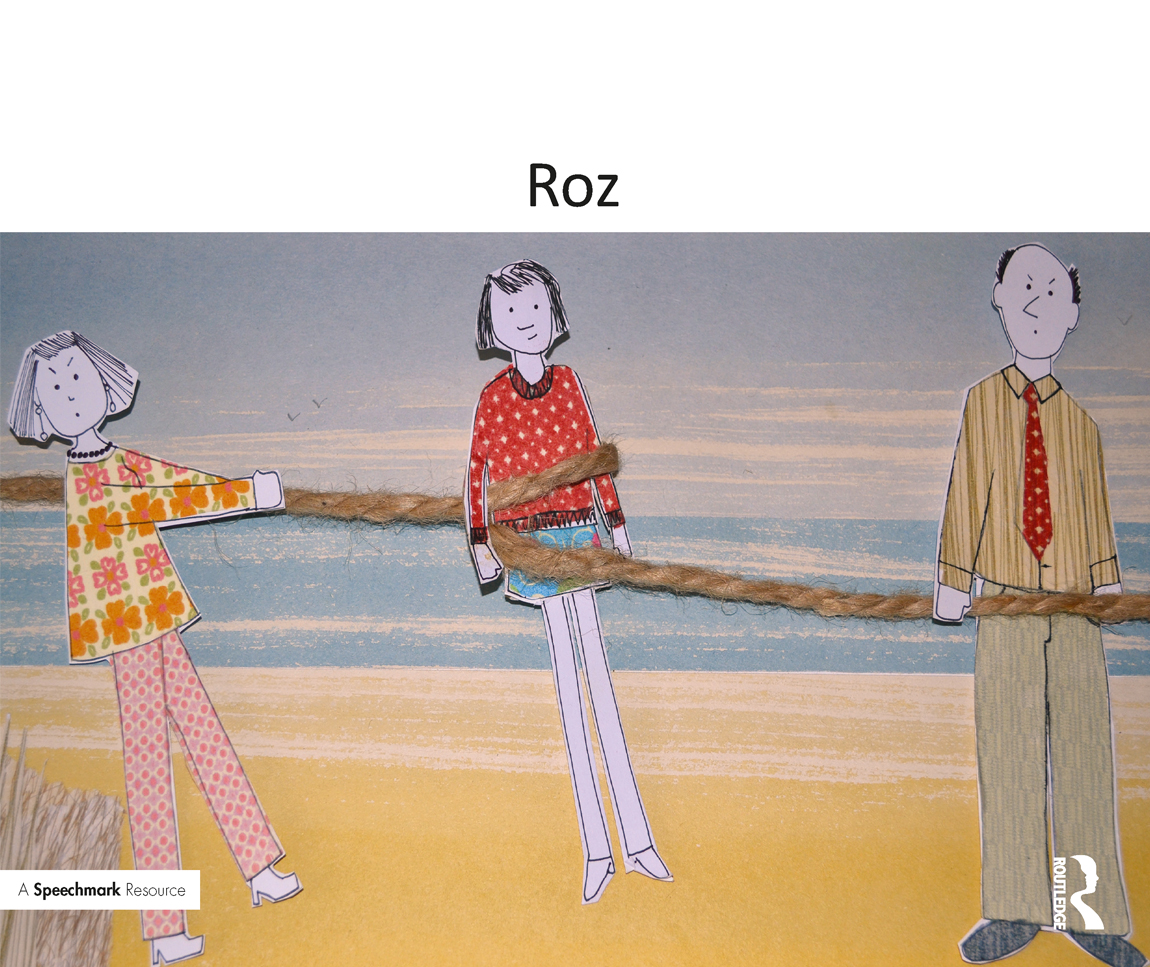 Roz: A Therapeutic Story About Family Break-Up book cover
