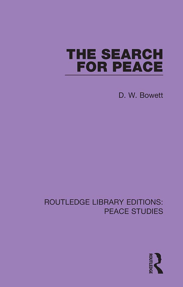 The Search for Peace book cover