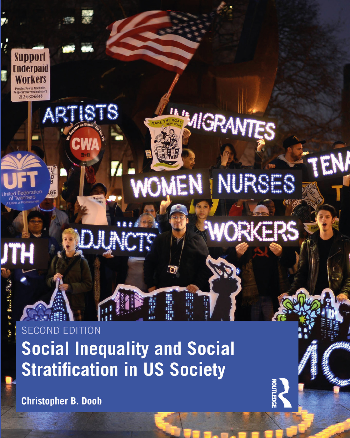 Social Inequality and Social Stratification in US Society: 2nd Edition (Paperback) book cover