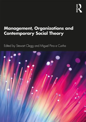 Management, Organizations and Contemporary Social Theory book cover