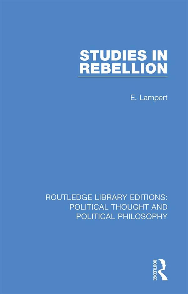 Studies in Rebellion book cover