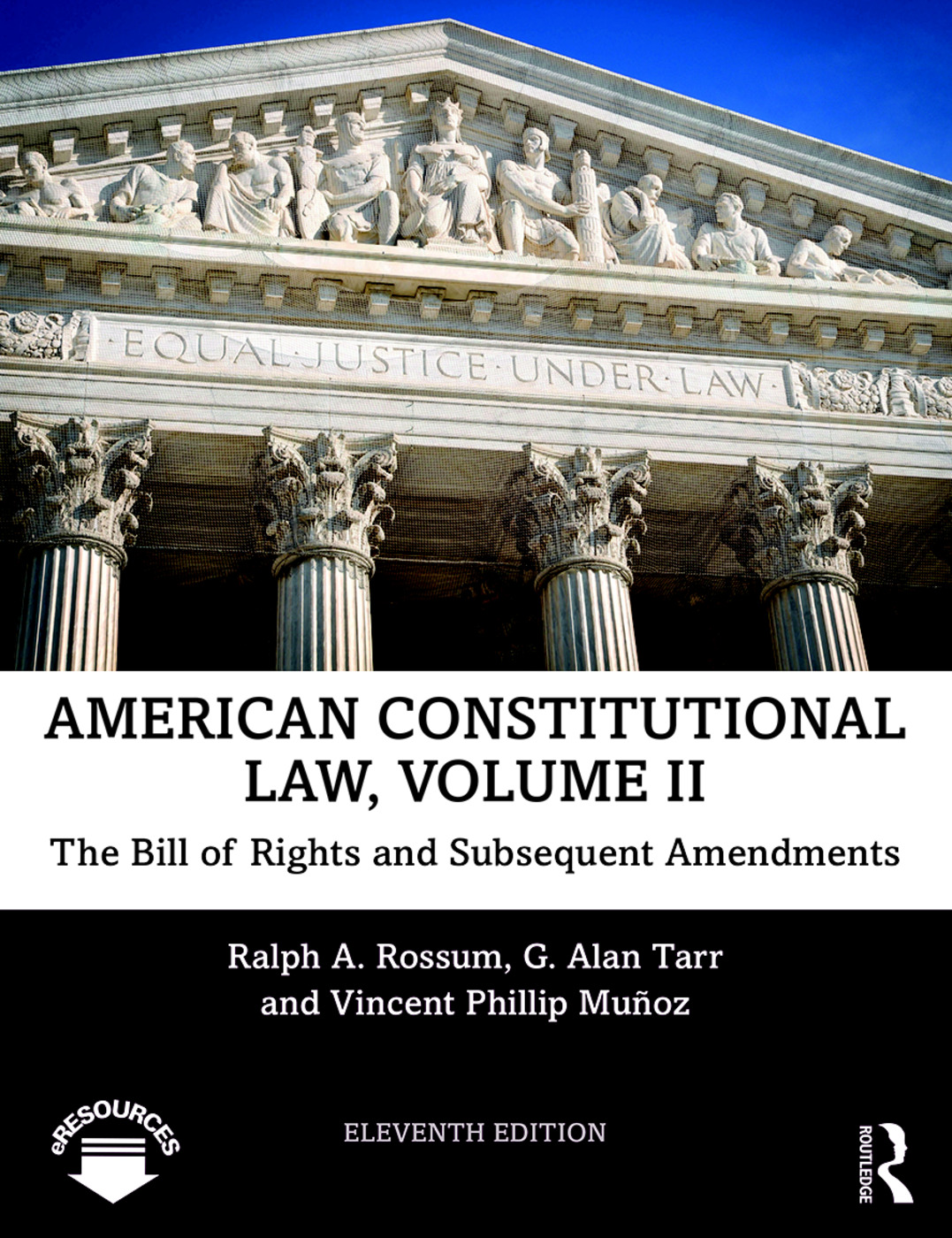 American Constitutional Law, Volume II: The Bill of Rights and Subsequent Amendments book cover