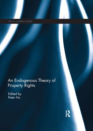 An Endogenous Theory of Property Rights book cover