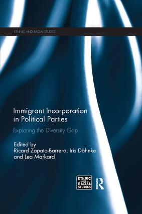Immigrant Incorporation in Political Parties: Exploring the diversity gap, 1st Edition (Paperback) book cover