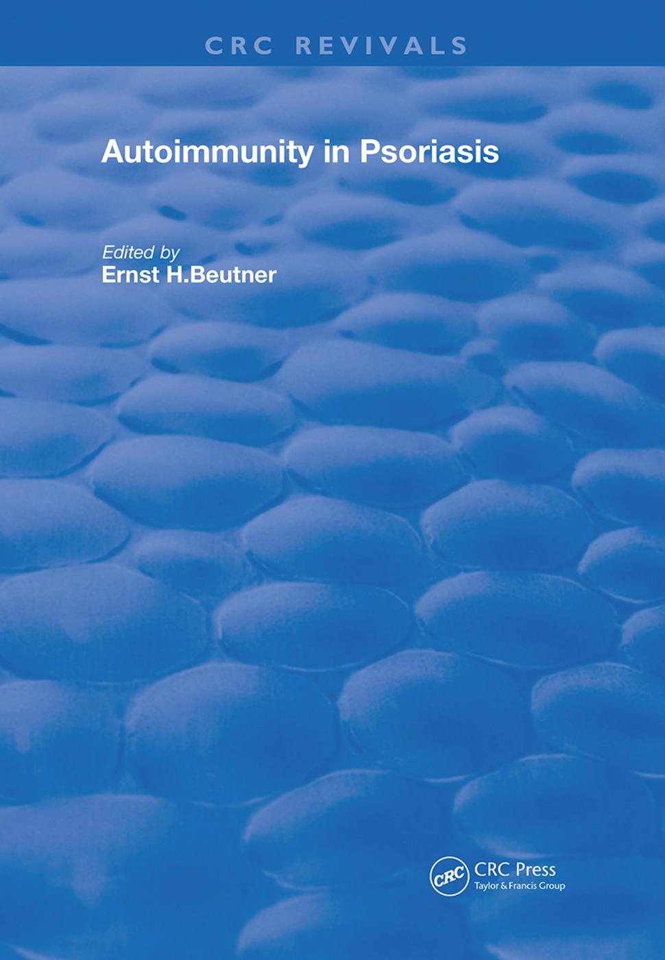 Autoimmunity In Psoriasis: 1st Edition (Hardback) book cover