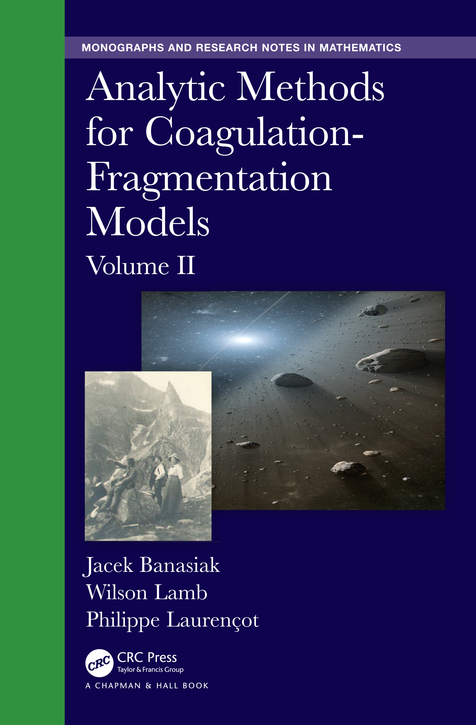 Analytic Methods for Coagulation-Fragmentation Models, Volume II book cover