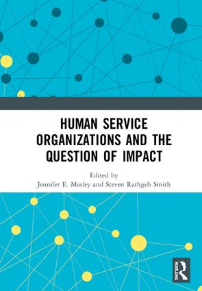 Human Service Organizations and the Question of Impact book cover