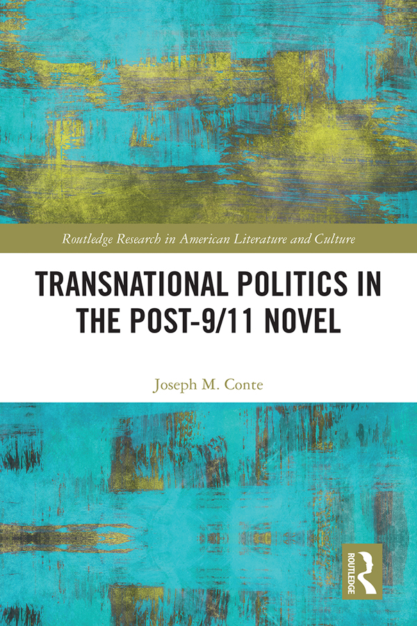 Transnational Politics in the Post-9/11 Novel book cover