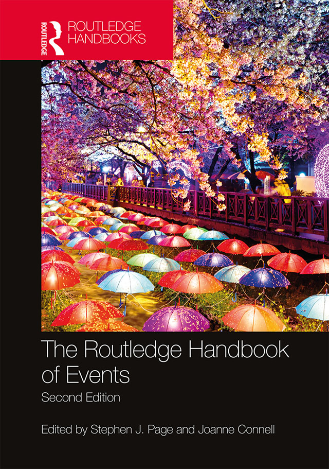 The Routledge Handbook of Events book cover