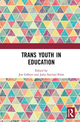 Trans Youth in Education: 1st Edition (Hardback) book cover