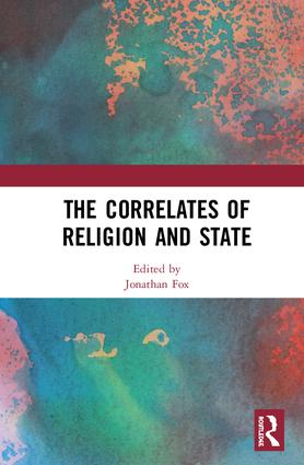 The Correlates of Religion and State: 1st Edition (Hardback) book cover