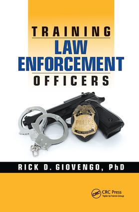 Training Law Enforcement Officers: 1st Edition (Paperback) book cover