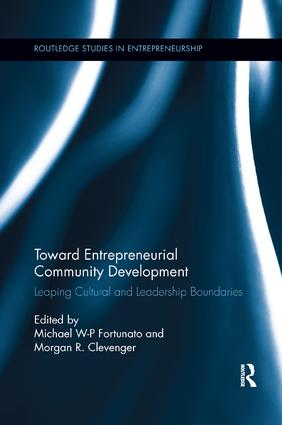 Toward Entrepreneurial Community Development: Leaping Cultural and Leadership Boundaries book cover