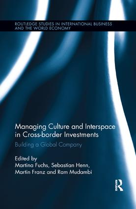 Managing Culture and Interspace in Cross-border Investments: Building a Global Company book cover