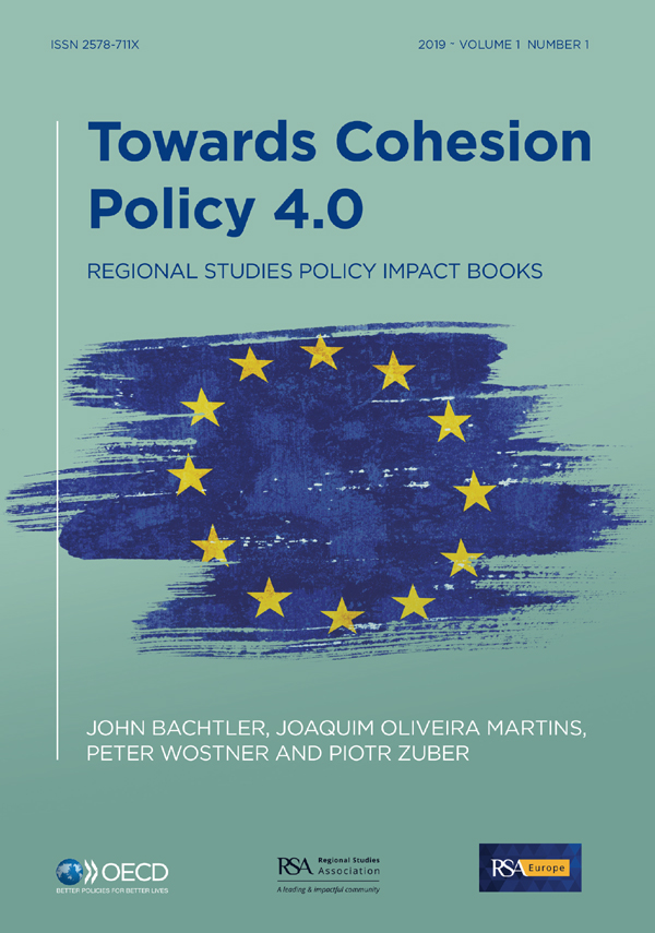 Towards Cohesion Policy 4.0: Structural Transformation and Inclusive Growth book cover