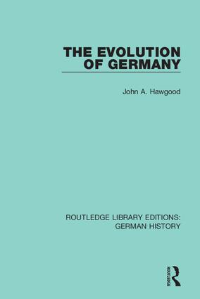 The Evolution of Germany book cover