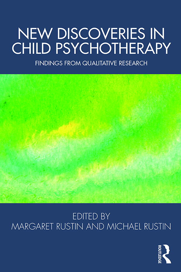New Discoveries in Child Psychotherapy: Findings from Qualitative Research book cover