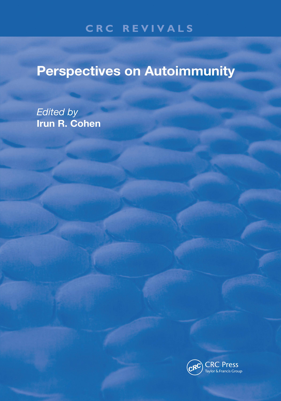 Perspectives on Autoimmunity: 1st Edition (Hardback) book cover
