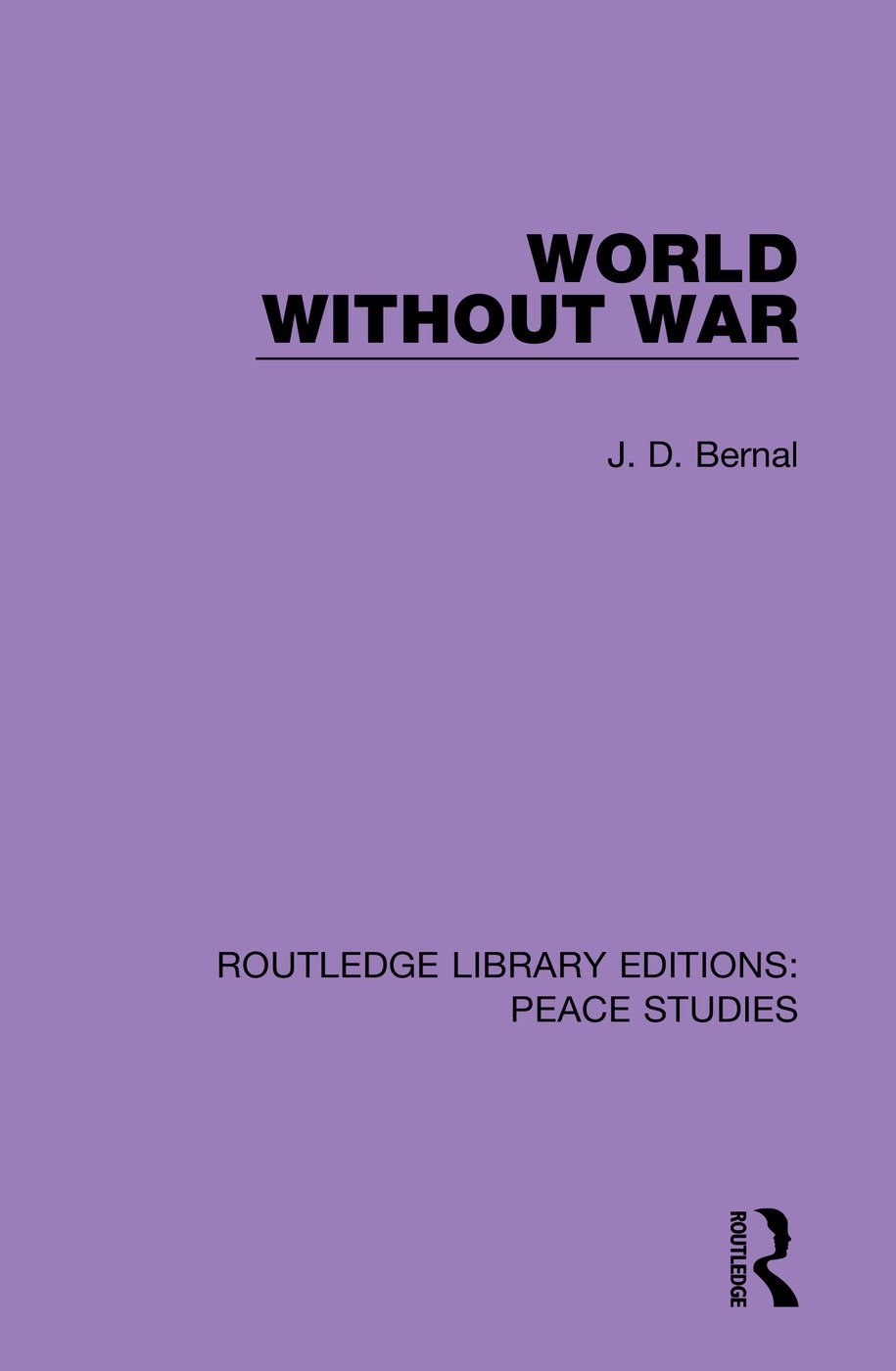 World Without War book cover