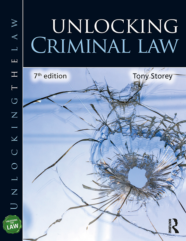 Unlocking Criminal Law book cover