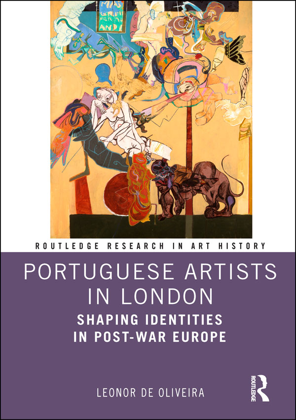 Portuguese Artists in London: Shaping Identities in Post-War Europe book cover