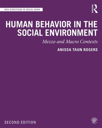 Human Behavior in the Social Environment: Mezzo and Macro Contexts book cover