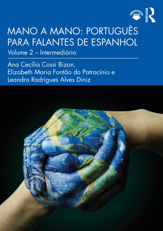 Mano a Mano: Português para falantes de espanhol: Volume 2 – Intermediário book cover