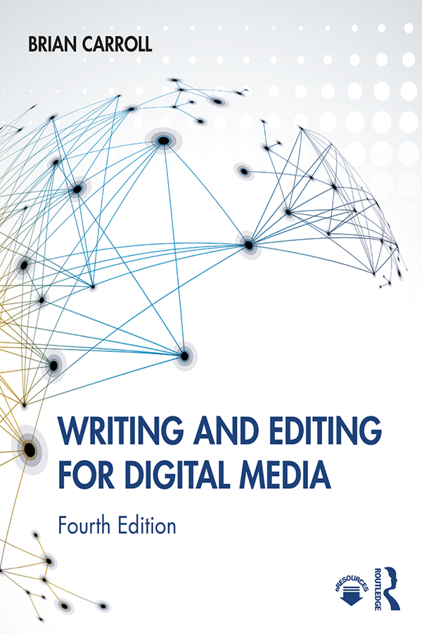 Writing and Editing for Digital Media book cover