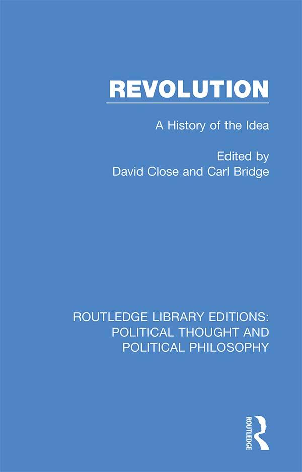 Revolution: A History of the Idea book cover