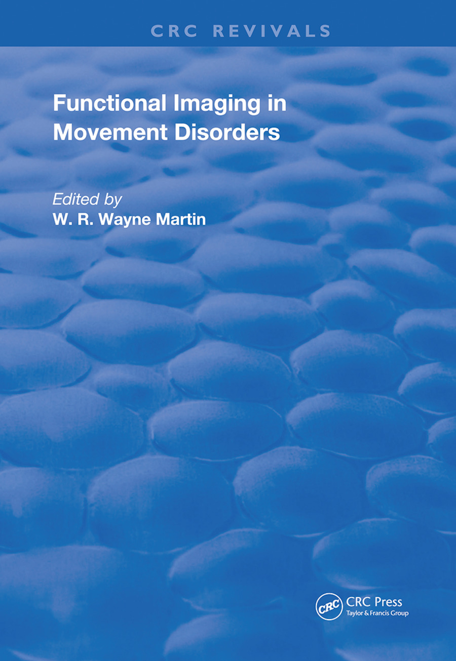 Functional Imaging in Movement Disorders: 1st Edition (Hardback) book cover