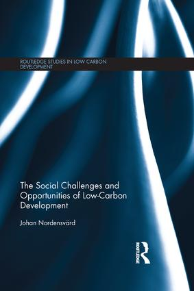 The Social Challenges and Opportunities of Low Carbon Development book cover