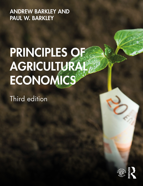 Principles of Agricultural Economics book cover
