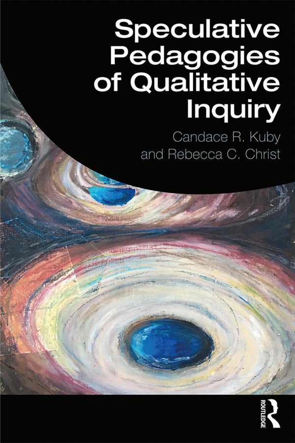 Speculative Pedagogies of Qualitative Inquiry book cover
