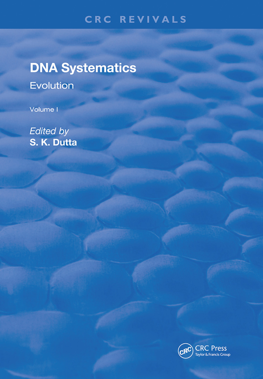 DNA Systematics: Evolution, 1st Edition (Hardback) book cover