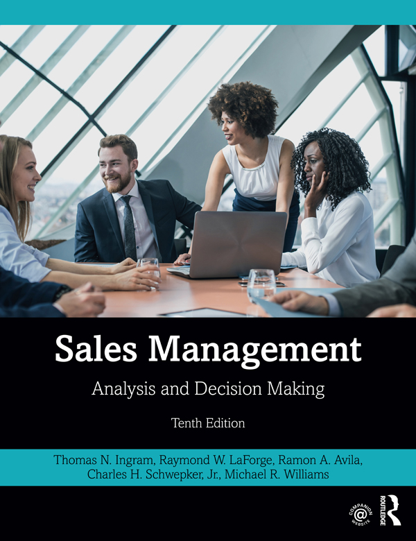 Sales Management: Analysis and Decision Making, 10th Edition (Paperback) book cover