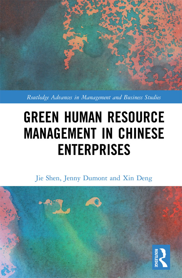 Green Human Resource Management in Chinese Enterprises book cover