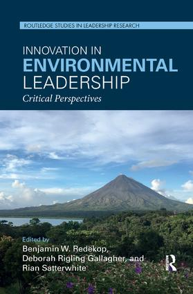 Innovation in Environmental Leadership: Critical Perspectives book cover